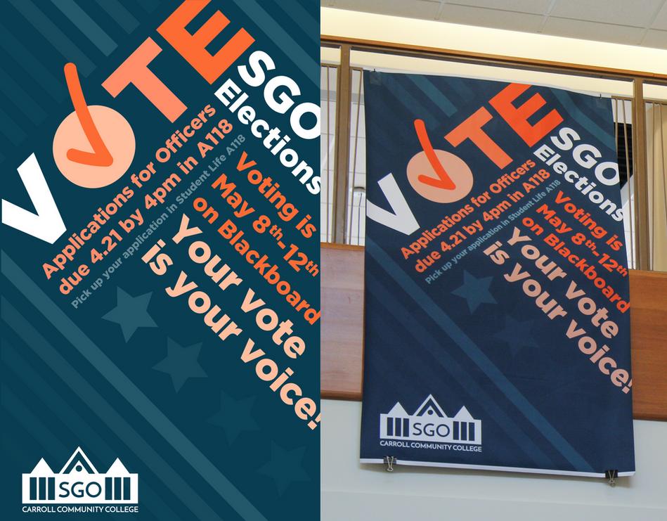 Student Government Vote Campaign