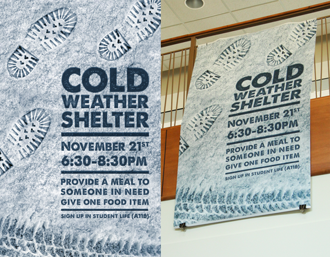 Cold Weather Shelter Banner