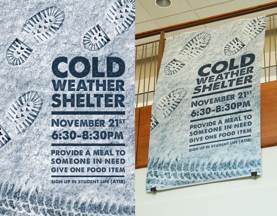 Cold Weather Shelter Banner