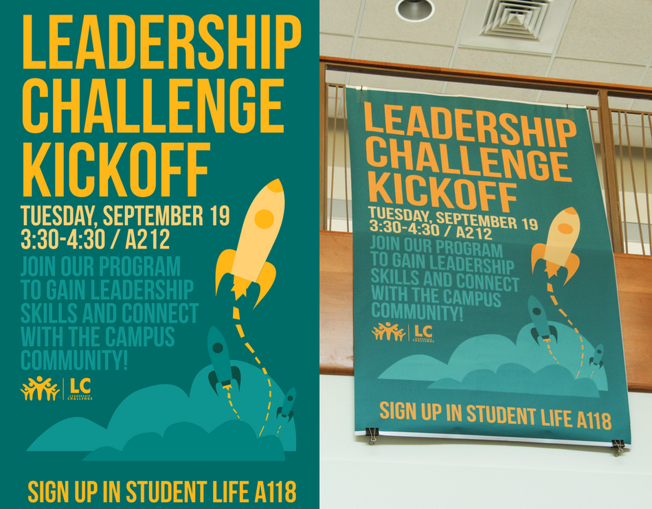 Leadership Challenge Kickoff Banner