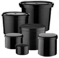 Plastic Ink Containers