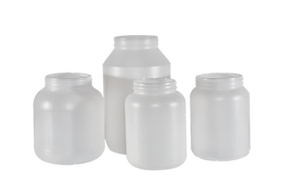Plastic Indsutrial Round Bottle HDPE
