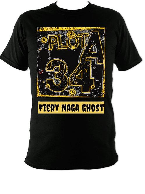 Firey naga ghost tshirt (any size or colour)