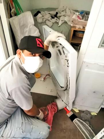 Reparación secadora Mabe