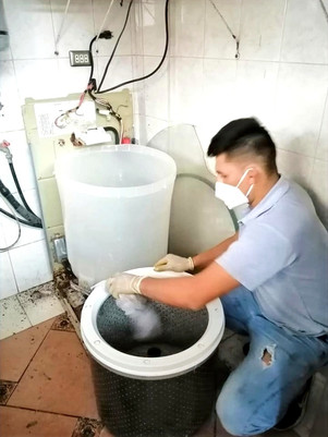 Mantenimiento de lavadoras samsung