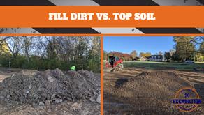 Fill Dirt vs. Top Soil
