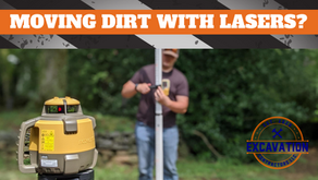 Moving dirt with lasers?