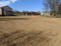 After picture of newly graded yard.