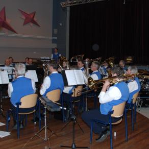 Brassband speelde in Hoeven