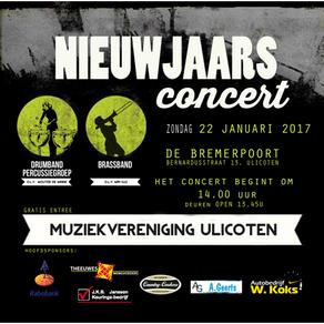 Aankondiging: Nieuwjaarsconcert