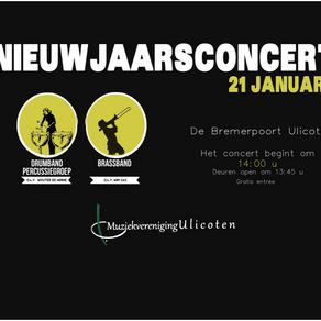 Aankondiging: Nieuwjaarsconcert 2018