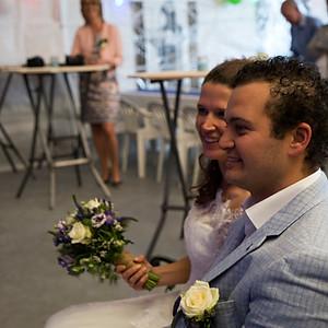 Huwelijk Corine en Tim