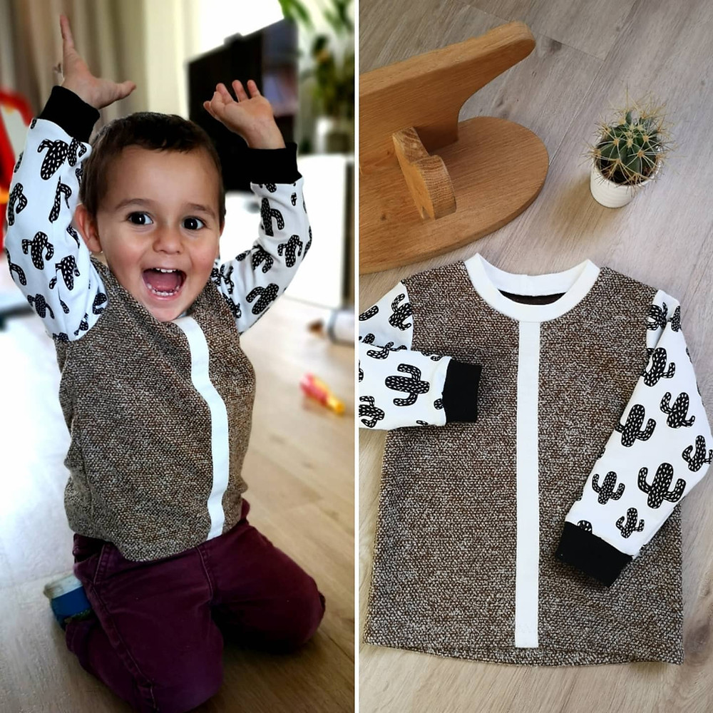 upcycling sweater movie night pajamas pattern