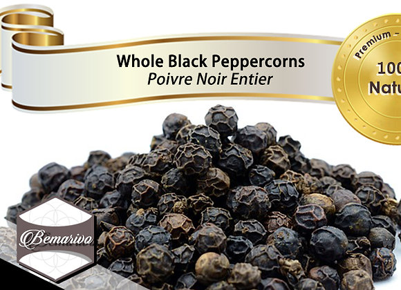 Whole Black Peppercorns - Bulk