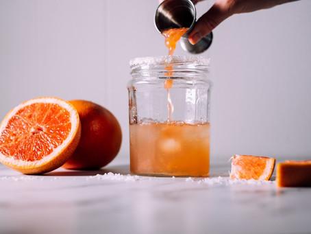 Vanilla and Orange infused vodka