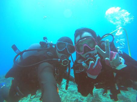 初めての水深16mへ