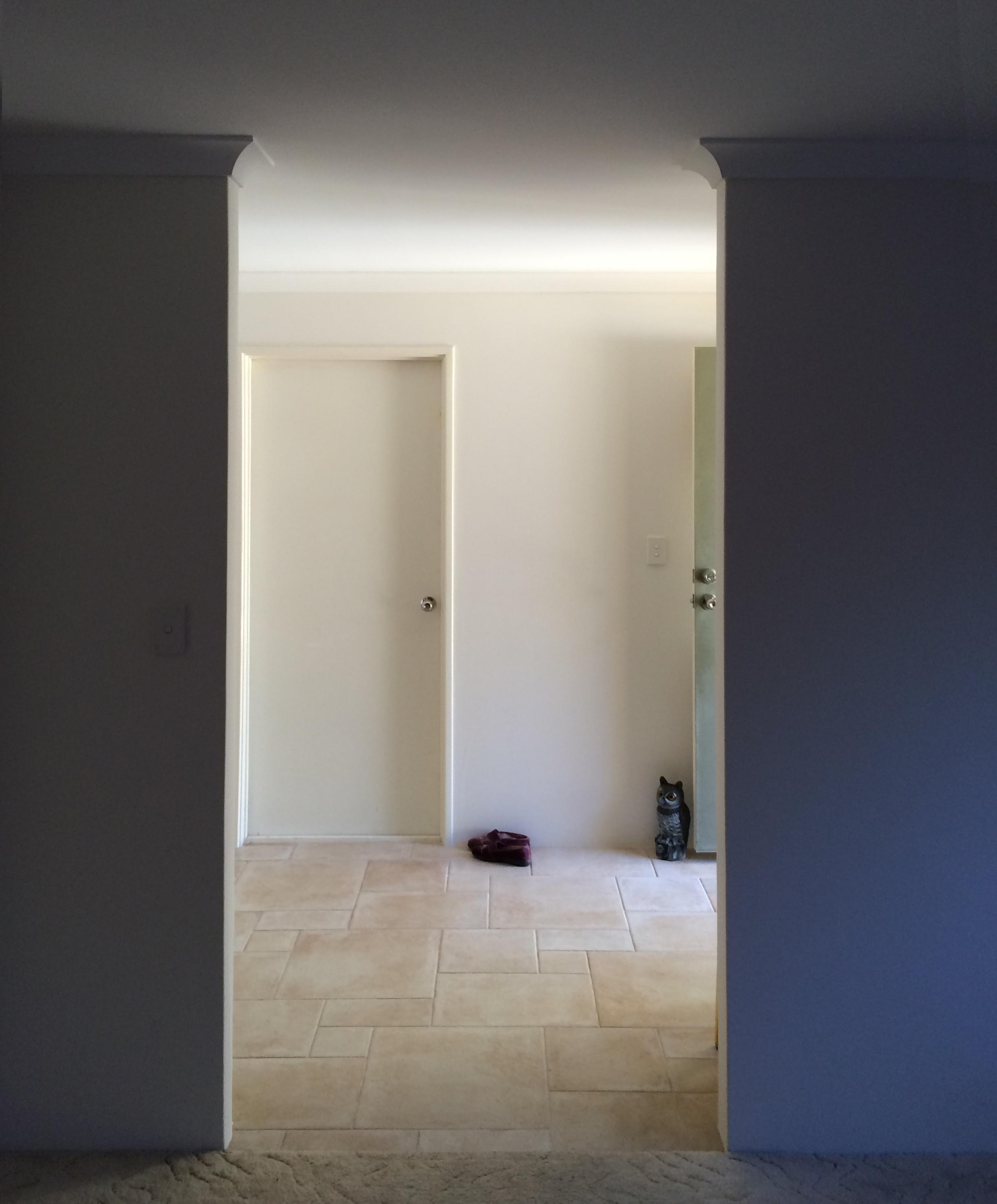 1 Light dbl door 2330 x 1180 before