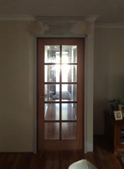 10 Light Clear Glass 2400 x 890 opening