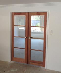 4 Light Clear Glass 2340 x 720 dbl door.