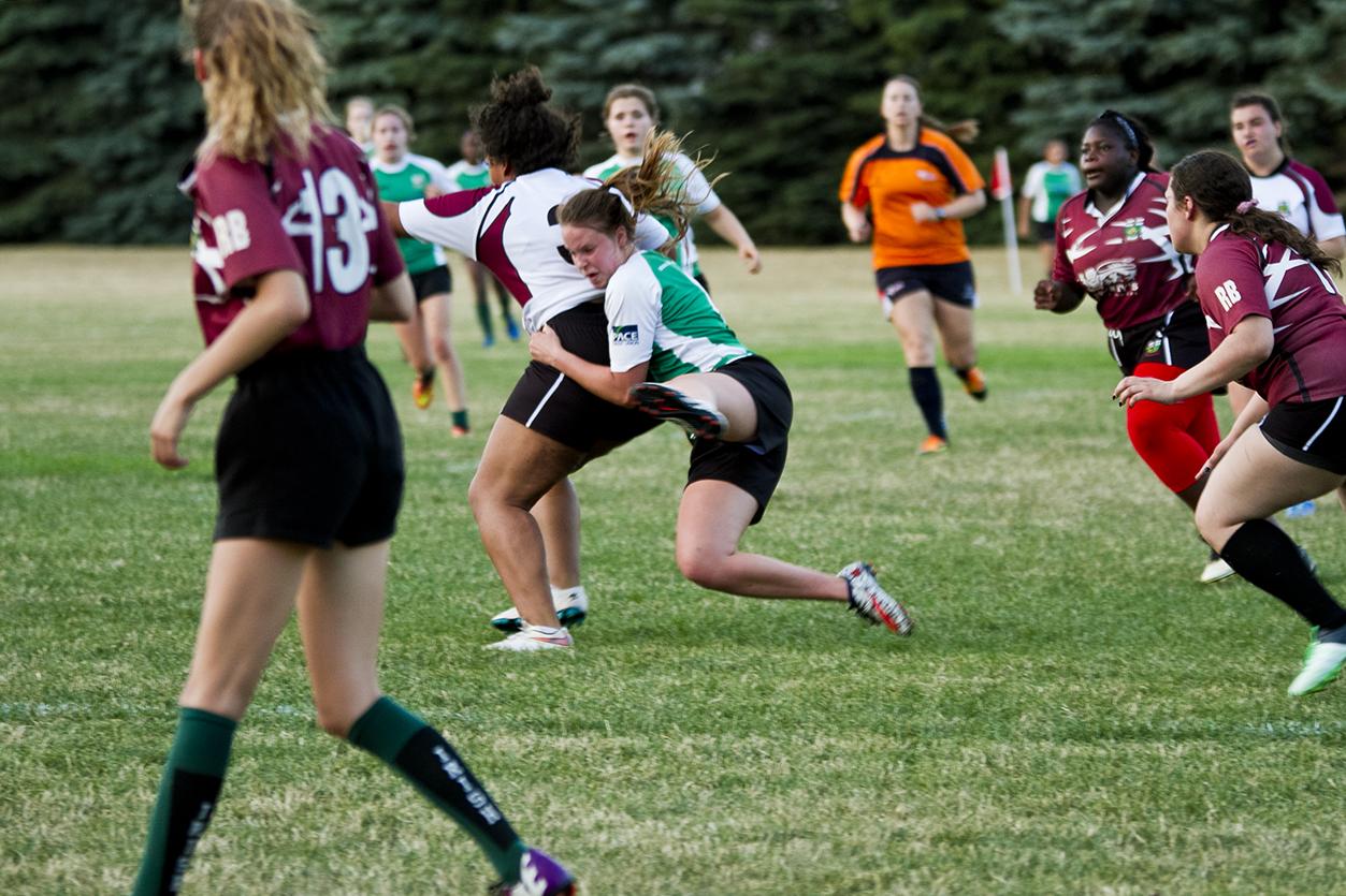 U18MIvsBrampton - Anna - tackle