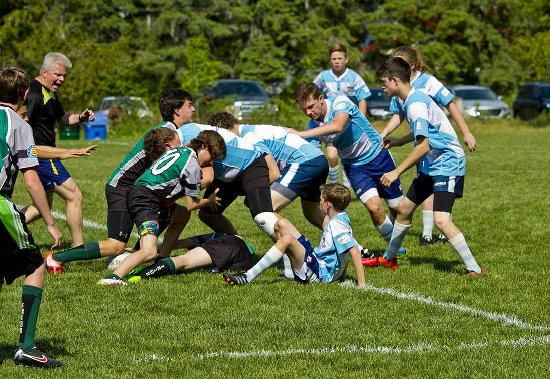Rucking vs Barrie U14 May 28 2016