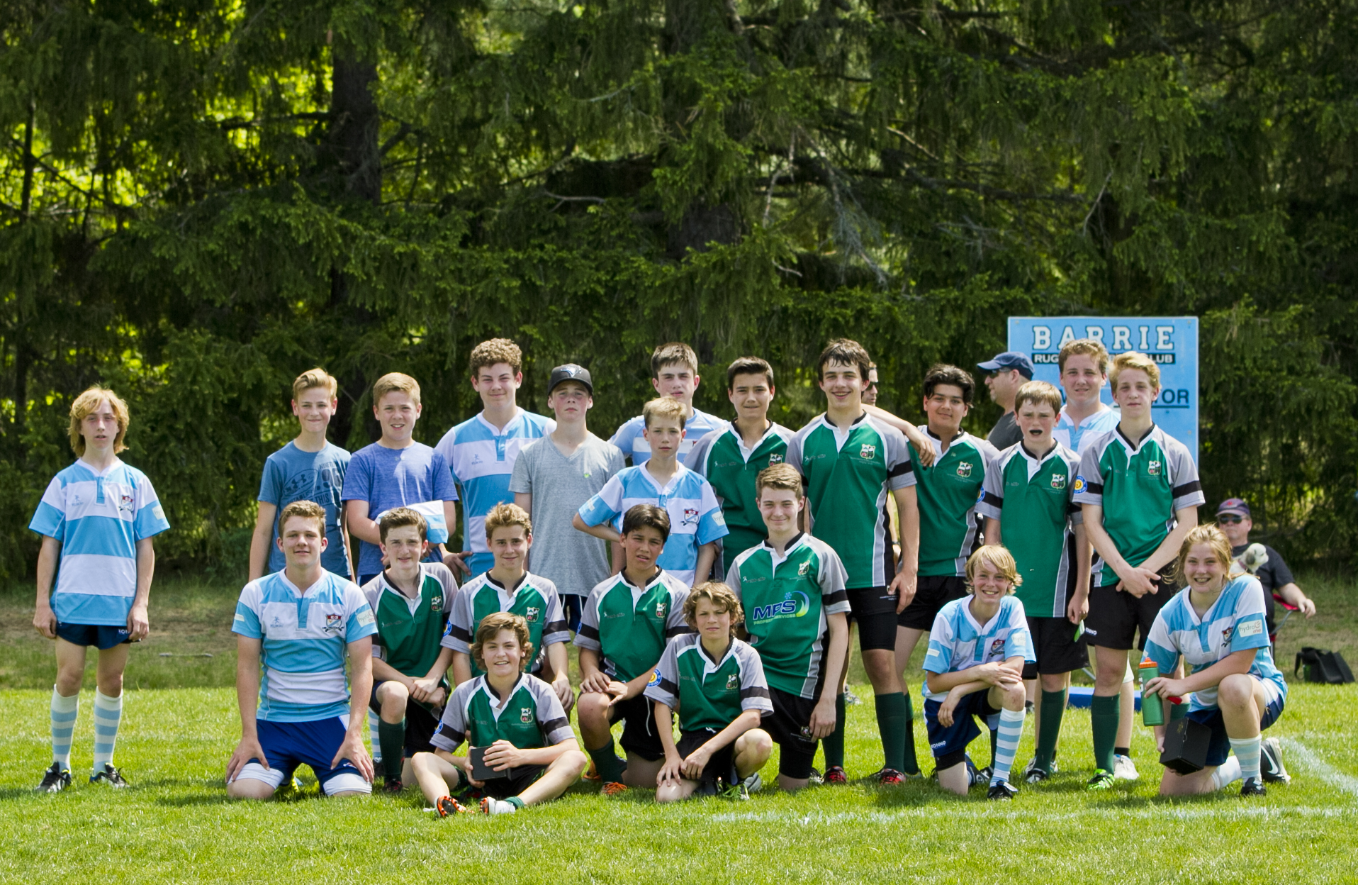 Teams Photo U14 Barrie vs Markham May 28 2016