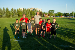 Brett with MICRC U12 (2) May 30 2016