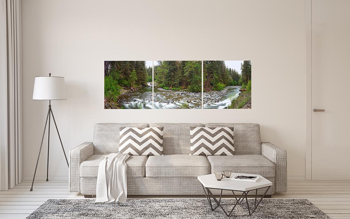 Sol Duc River triptych