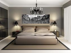 Yosemite in bedroom