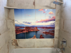 Brent's bathroom tile picture