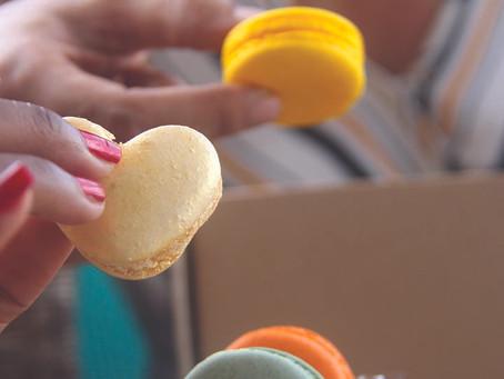 Romy et ses macarons