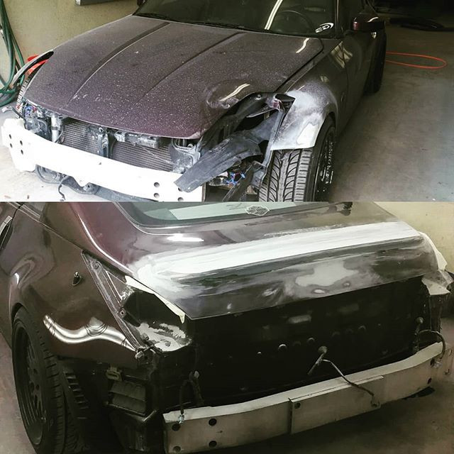 Shop #350z getting another make over....