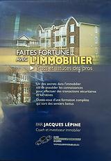 DVD-Faites fortune avec l'immobilier avec Jacques Lépine