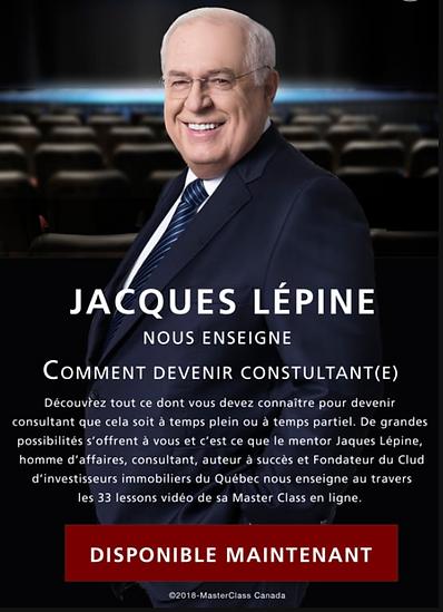 Comment devenir consultant avec Jacques