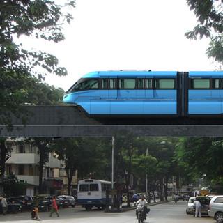 Colour Identity for Mumbai Monorail