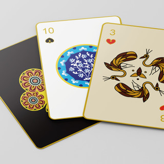 Playing Cards inspired by Indian Art