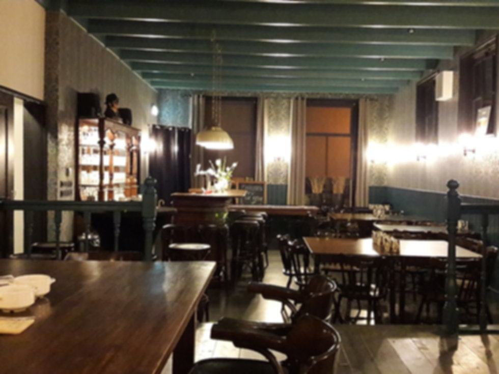 De vergaderzaal van De Die Pilaren