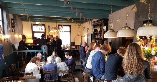verjaardag vieren in feestzaal 'Bij Jacques │ De Drie Pilaren'