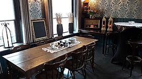 Een koffietafel na de uitvaart 'Bij Jacques | De Drie Pilaren'