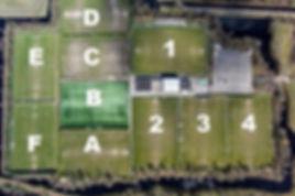 luchtfoto VV Heerenveen