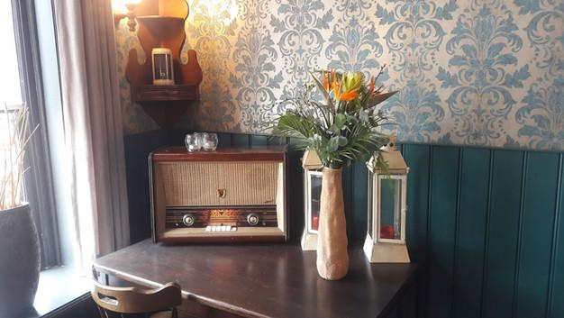 de oude buizen radio