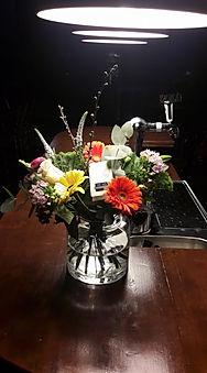 Daar wordt je vrolijk van. Een bloemetje van He-as uit Oudeschoot/Heerenvee