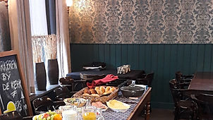 'Bij Jacques | De Drie Pilaren, zaalruimte huren + lunch.