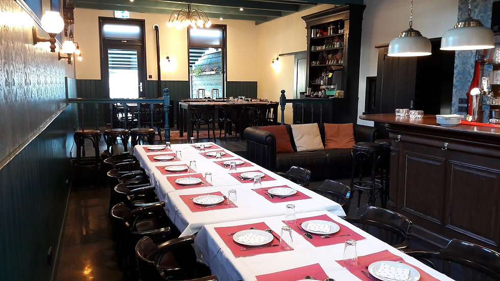 Vergaderen en lunchen in Heerenveen, Friesland