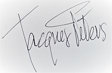 Handtekening Jacques Peters