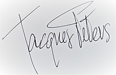 Handtekening Jacques Peters