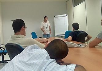 saaie vergadering
