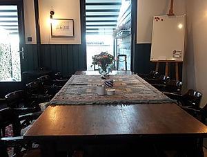 vergadertafel 'Bij Jacques - De Drie Pil