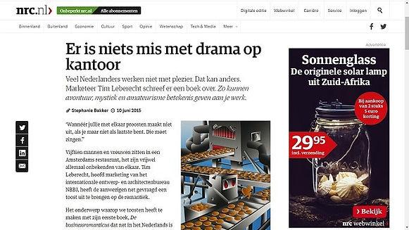 Er is niets mis met drama op kantoor, nrc.nl