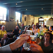 Receptie of een feestje 'Bij Jacques | De Drie Pilaren'